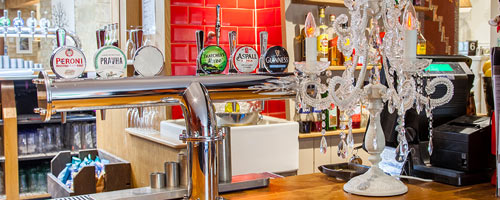 Beer tap in the Cotswolds